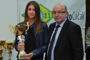 Natalija Popović i Radenko Luković; foto: Duško Radišić Lejča
