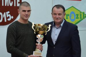 Stefan Stefanović i Vojislav Ilić; foto Duško Radišić Lejča