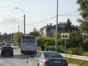 Autobusko stajalište u Atenici