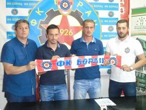 Novi stručni štab FK Borac