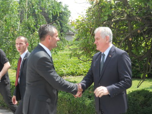 Veliki jubilej: Tomislav Nikolić i direktor Instituta dr Milan Lukić