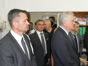 Gradonačelnik Todorović u društvu predsednika