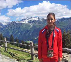 Još jedan uspeh: Jana Bojović u Švajcarskoj