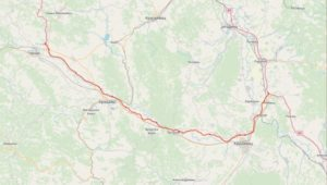 Na Ovoj Ruti Ce Se Graditi Autoput Od Preljine Do Pojata Mapa